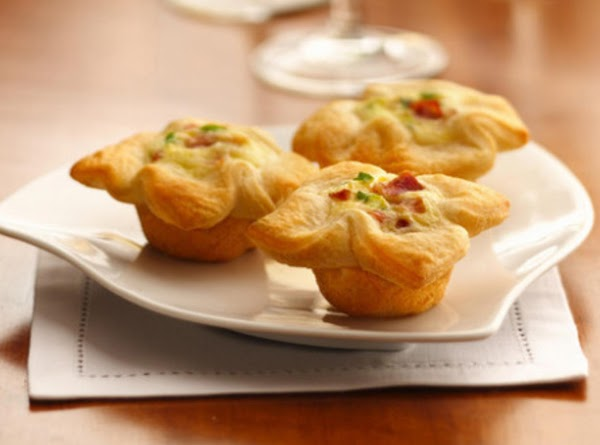 Crescent Bacon Cheese Tartlets Recipe