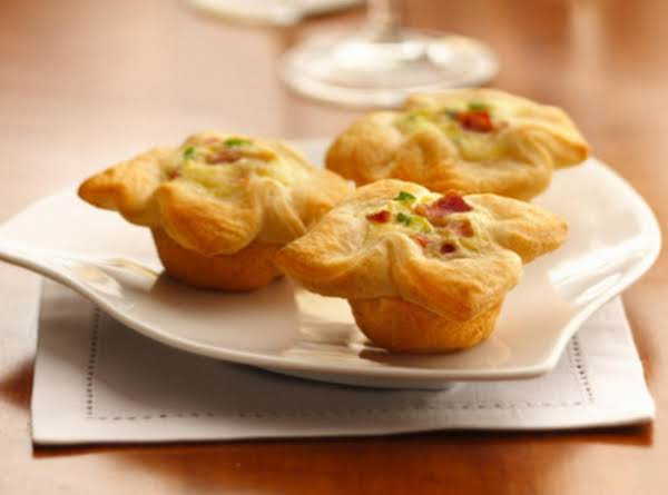 Crescent Bacon Cheese Tartlets
