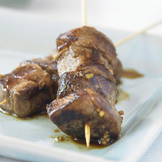 Pork Satay with Thai Chili Jam