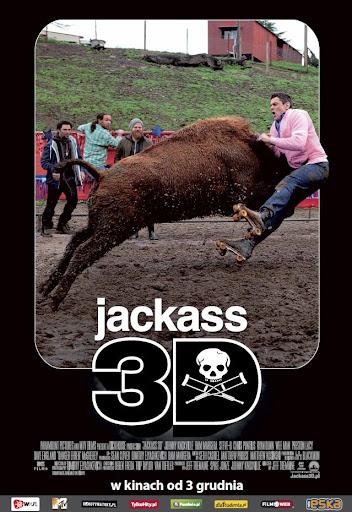 Polski plakat filmu 'Jackass 3D'