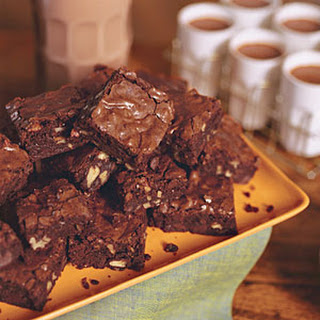 Dark Chocolate Brownies.