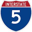 I-5 Traffic Cameras Pro icon
