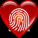 Fingerprint Love Test Scanner icon