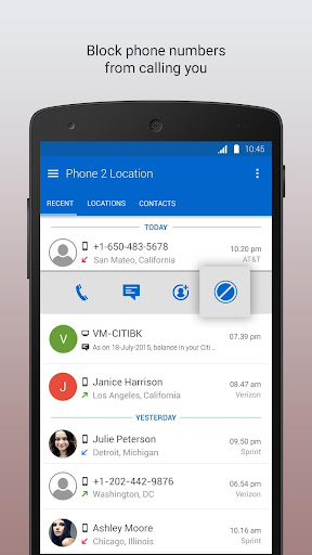 Phone 2 Location - Caller ID Mobile Number Tracker 6.52 screenshots 7