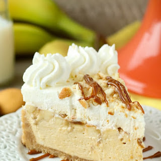No-Bake Banana Dulce De Leche Mousse Cake Recipe