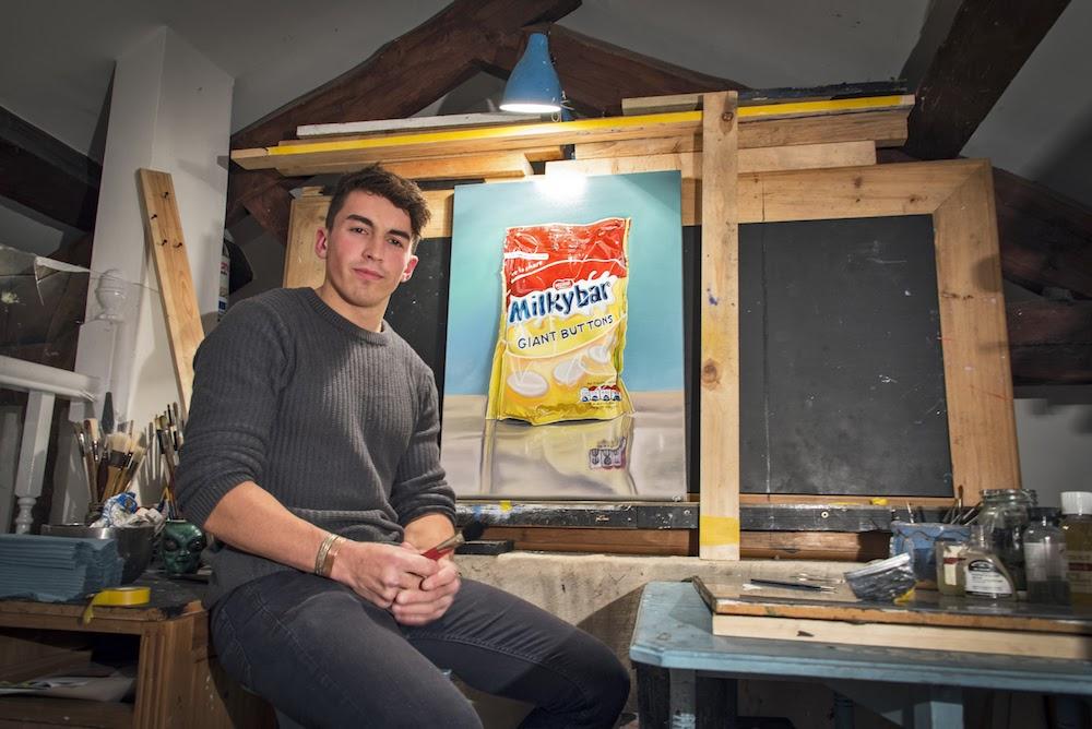 Praise from Disney artist for bricklayer Callum