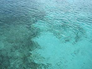 Photo: Glasklares Wasser trotz Sandstrand.