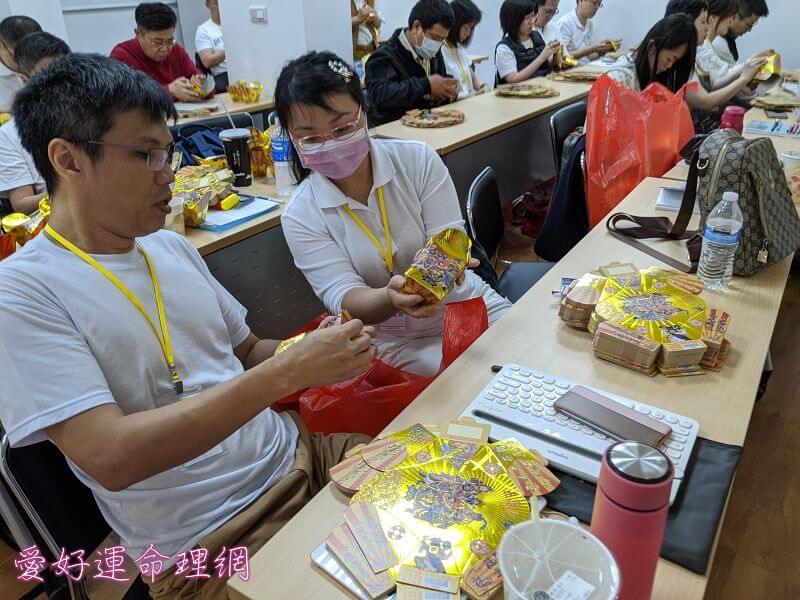 學員製作聚寶盆準備補財庫 5