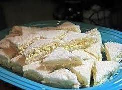 Egg Salad Triangles Recipe