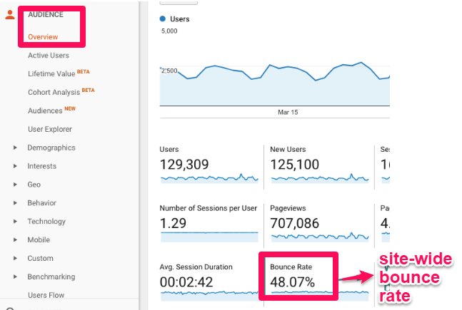 Bounce Rate: Key Success Metric for an Advertiser Focused on Branding