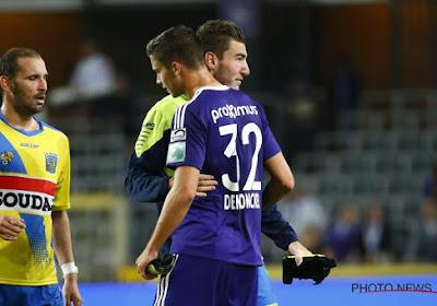 """Les amis Heylen et Dendoncker s'affrontent : """"C'est rare dans le foot"""""""