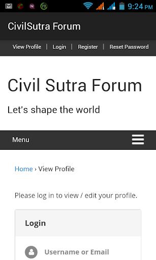 CivilSutra Forum