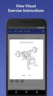 PHUL Workout Log- screenshot thumbnail