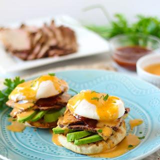 BBQ Brisket Eggs Benedict