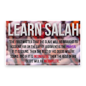 Learn Salah/Prayer
