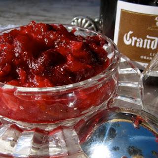 Grand Marnier Orange Cranberry Sauce