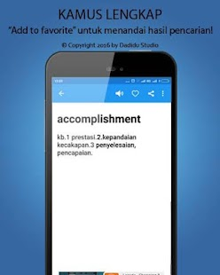 Indonesia - English Dictionary- screenshot thumbnail