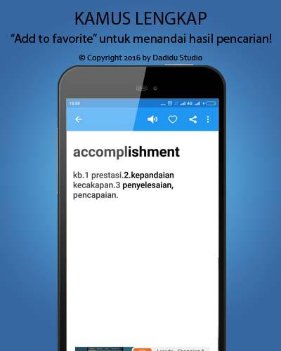 Indonesia - English Dictionary- screenshot