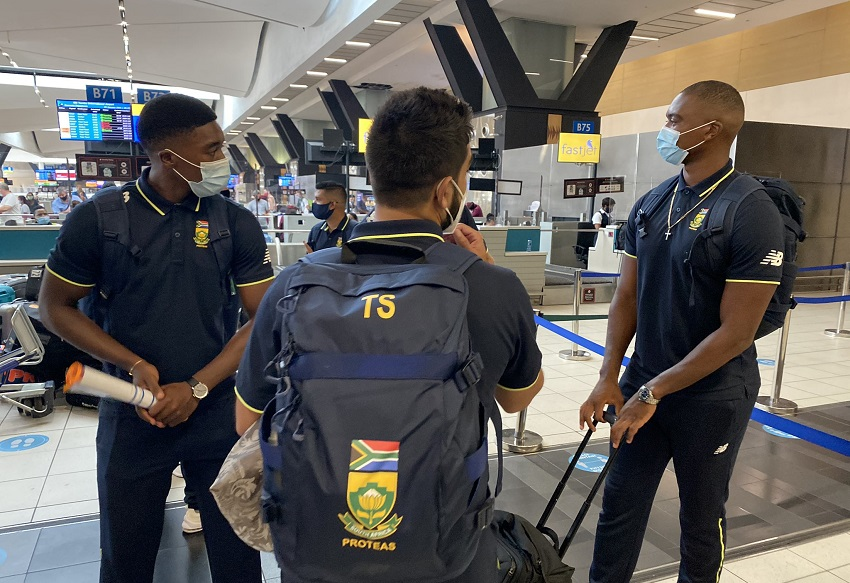 WATCH | Proteas arrive in Karachi for historic tour of Pakistan