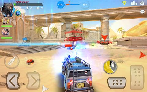 Overload: Multiplayer Battle Car Shooting Game screenshot