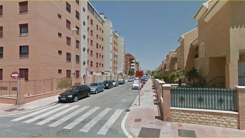 Zona residencial  en Nueva Almería.