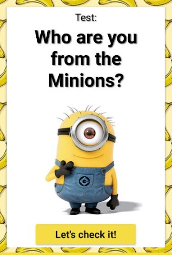 Test: Which Minion Are You?  screenshots 1