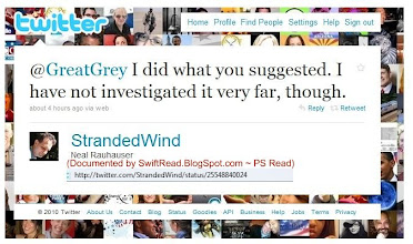 Photo: http://twitter.com/StrandedWind/status/25548840024 coordinates with social-activist and volunteer http://twitter.com/GreatGrey  see next page