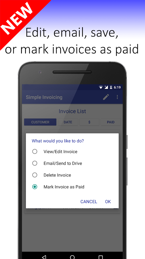 simple invoicing - android apps on google play, Invoice examples