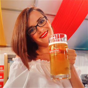 Beer festival by Oliver Švob - Instagram & Mobile Android ( sony, sony xperia, beer, girl, glass, hostesses, lady, Alcohol, booze, spirits ,  )