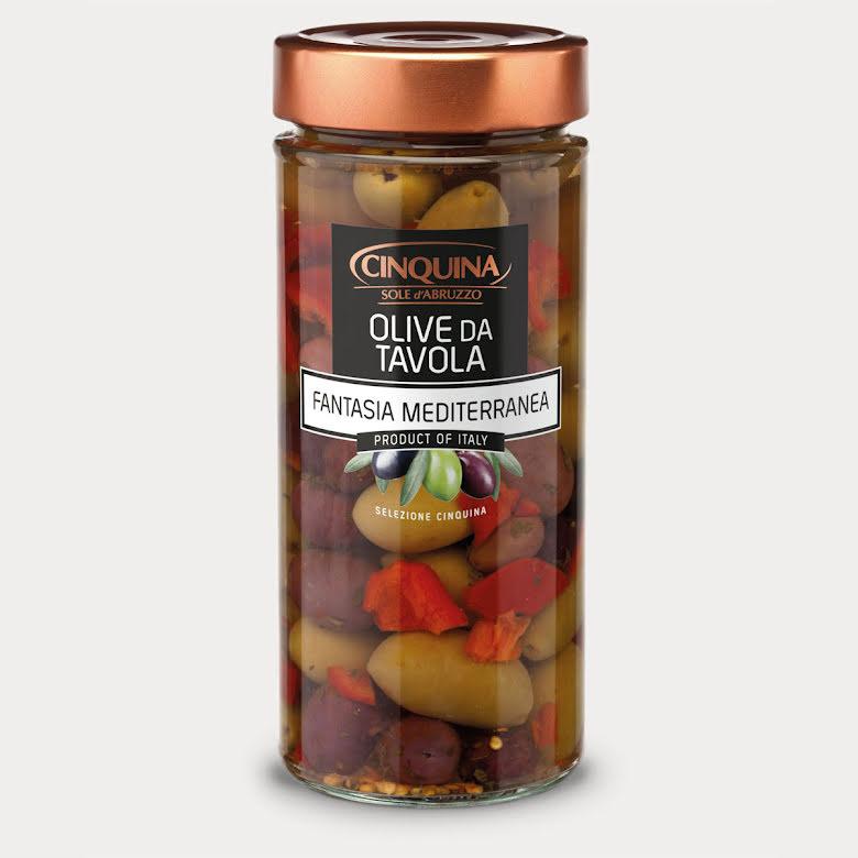 Olive da Tavola Fanatsia Mediterranea