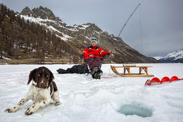 Pesca sul lago ghiacciato di Giulio61