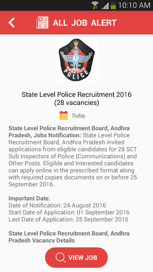 All Job Alert- screenshot