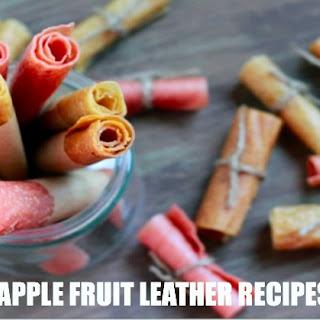5 Amazing Apple Fruit Leather Recipes