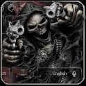 Devil Death Skull Gun Keyboard Theme icon