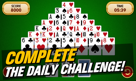 Pyramid Solitaire Challenge - náhled
