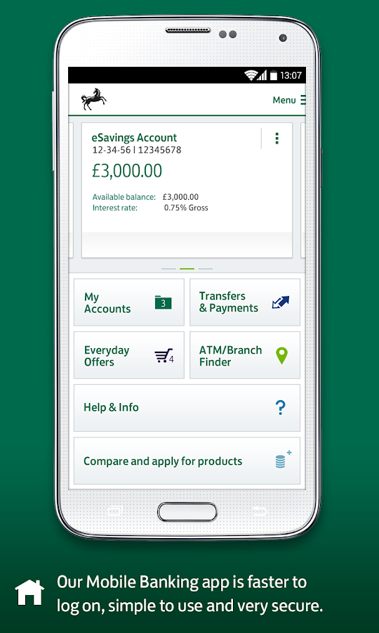 Lloyds Bank Mobile Banking- screenshot