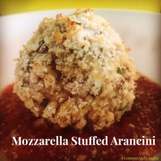 Mozzarella Stuffed Arancini