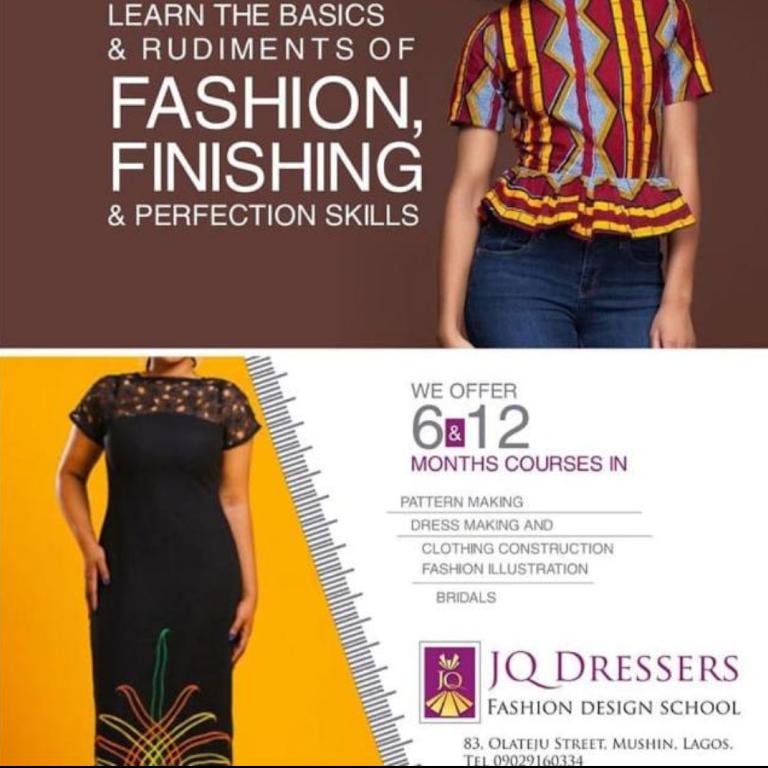 School Of Fashion In Lagos School Style