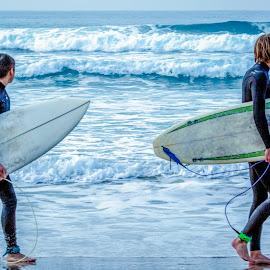 Wave Envy by Mark Ritter - Sports & Fitness Surfing ( waves, la jolla, ocean, beach, surfers, boards )