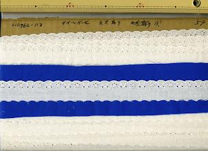 Photo: №016760-118綿ダブルガーゼ:巾25mm