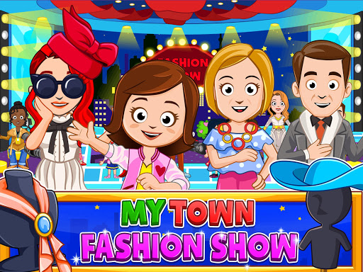 My Town : Fashion Show android2mod screenshots 6