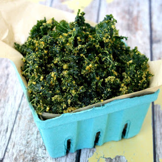 Cheezy Raw Kale Chips (Raw, Vegan, Gluten-Free, Dairy-Free, Paleo-Friendly) Recipe