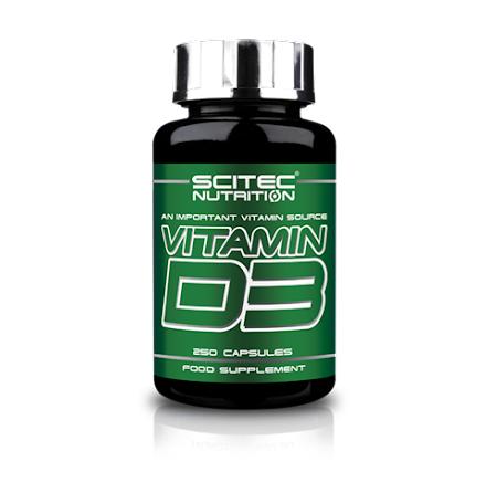 Vitamin D3 (250 kapslar)