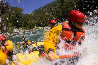 Photo: Whitewater rafting on the North Fork American River, CA.