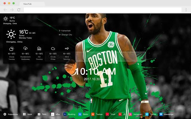 Celtics New Tabs HD Popular Basketball Themes