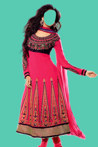 Indian Woman Dress Photo Suit