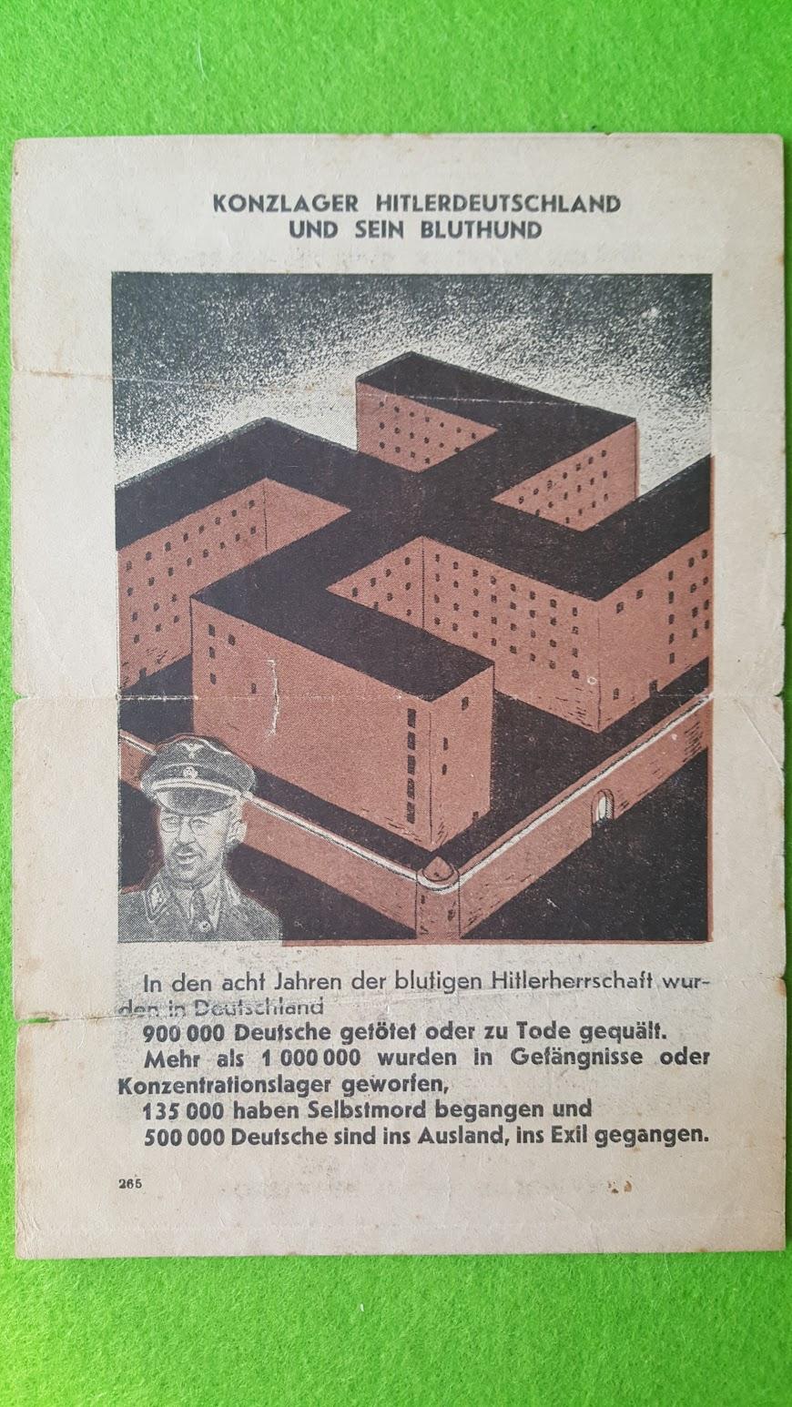 Sowjetisches Flugblatt - September 1941