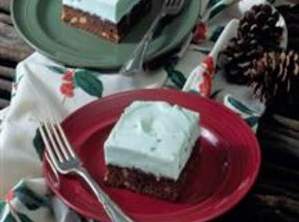 St Patty Day Mint Squares Recipe