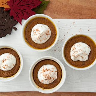 Five-Ingredient Pumpkin Custards
