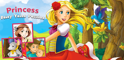 Puzzles of: Cinderella, Little Red Riding Hood, Sleeping Beauty & Snow White